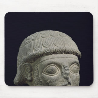 Head of a god, from Barak in Turkey Mouse Mat