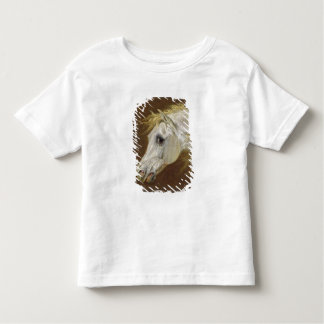 Head of a Grey Arabian Horse (oil on canvas on pan Toddler T-Shirt