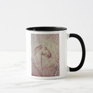 Head of a Horse, from the Cueva de la Pena Mug