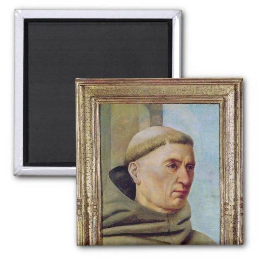 Head of a Monk Fridge Magnet