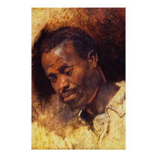 Head of a Negro by Rubens Posters