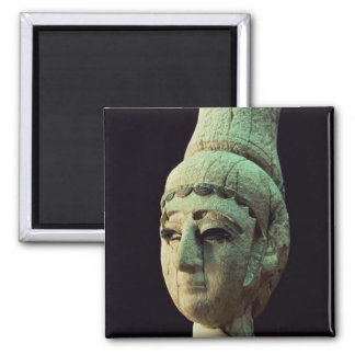 Head of a Prince or Princess of Ugarit (ivory) (se Fridge Magnets
