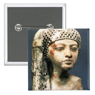 Head of a Princess from the family of Akhenaten, N 15 Cm Square Badge