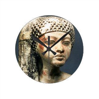 Head of a Princess from the family of Akhenaten, N Wall Clock