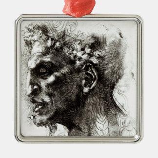 Head of a Satyr Christmas Ornament