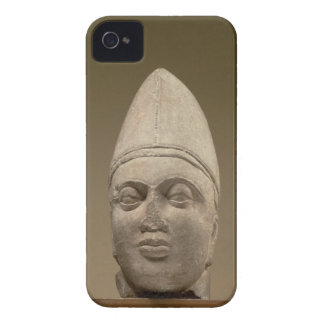 Head of a Scythian, red sandstone, 3rd century AD iPhone 4 Case-Mate Case