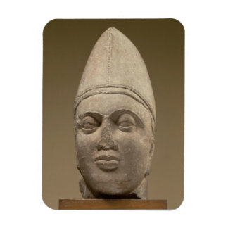 Head of a Scythian, red sandstone, 3rd century AD Magnet