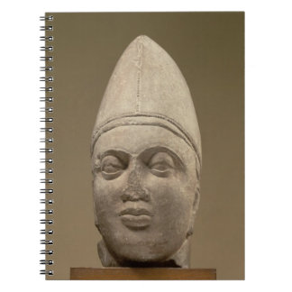 Head of a Scythian, red sandstone, 3rd century AD Notebook