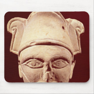 Head of a Semite chief with Egyptian influence Mouse Pad