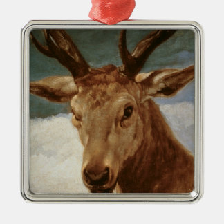 Head of a Stag, 1634 Christmas Ornament