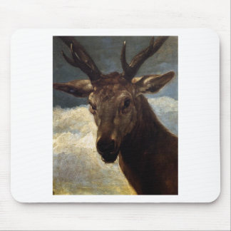 Head of a Stag by Diego Velazquez Mouse Pad