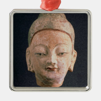 Head of a statue of Buddha, from Bezeklik Christmas Ornament
