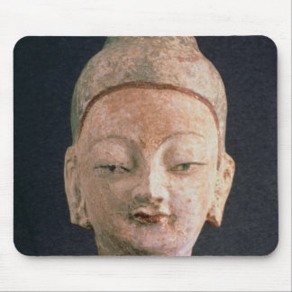 Head of a statue of Buddha, from Bezeklik Mouse Mat
