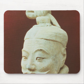 Head of a warrior, Terracotta Army Mouse Pad
