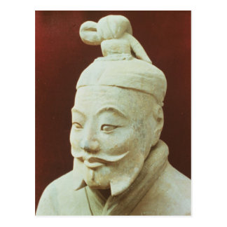 Head of a warrior, Terracotta Army Postcard