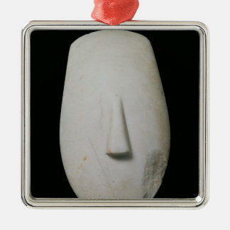 Head of a Woman Christmas Ornament