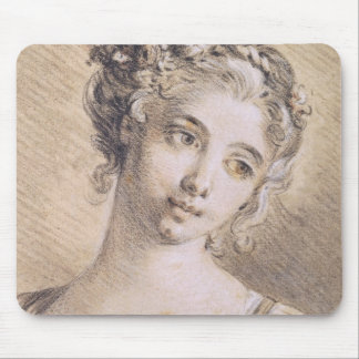 Head of a Young Girl Mouse Mat