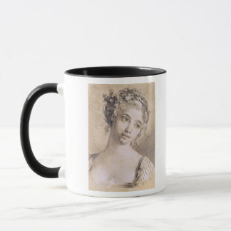 Head of a Young Girl Mug