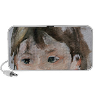 Head of a Young Girl Notebook Speakers