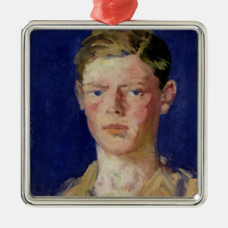 Head of a Young Man Christmas Ornament