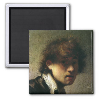 Head of a Young Man or Self Portrait 1629 Fridge Magnet