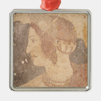 Head of a Young Woman, Velia Christmas Ornament