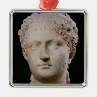 Head of Agrippina the Younger Christmas Ornament