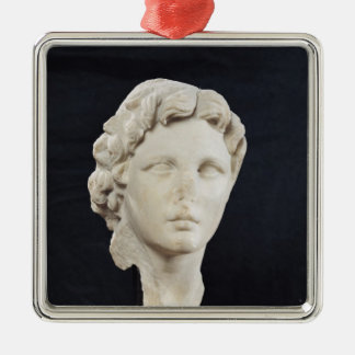 Head of Alexander the Great Christmas Ornament
