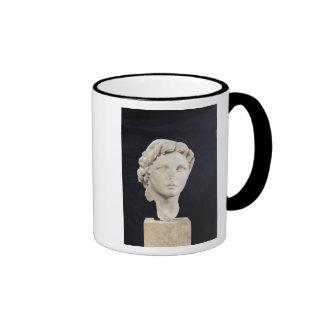 Head of Alexander the Great Ringer Mug