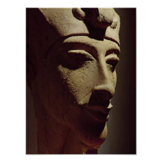 Head of Amenophis IV Poster