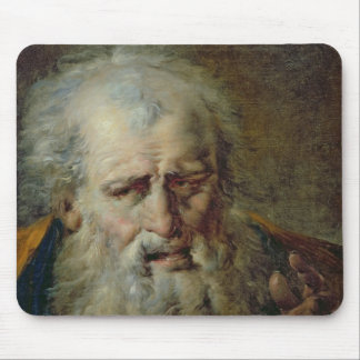 Head of an Old Man Mouse Mat
