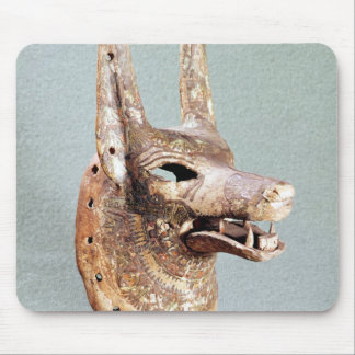 Head of Anubis, with a hinged jaw Mouse Pad