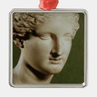Head of Artemis Christmas Ornament
