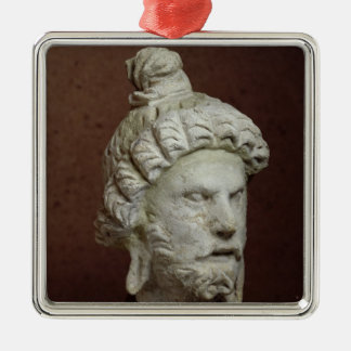 Head of Brahma, Afghanistan, 2nd-4th century Christmas Ornament