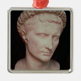 Head of Caesar Augustus Christmas Ornament
