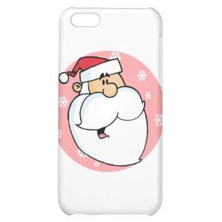 Head of Cartoon Santa Claus iPhone 5C Cover