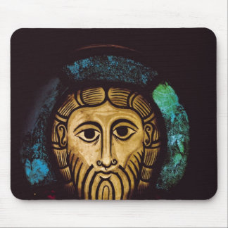 Head of Christ Mouse Pad