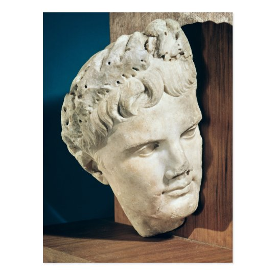 Head of Emperor Augustus 27-17 BC Postcard