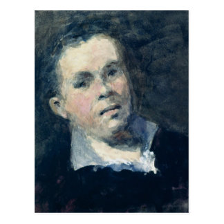 Head of Goya Postcard