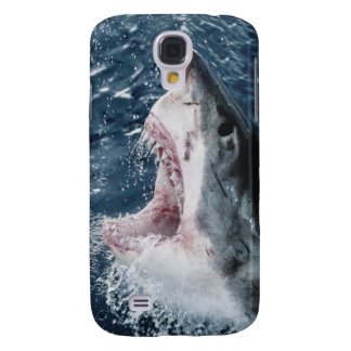 Head of Great White Shark Galaxy S4 Case