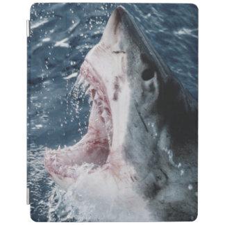 Head of Great White Shark iPad Cover