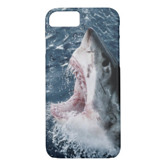 Head of Great White Shark iPhone 7 Case