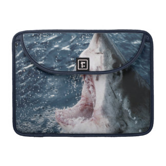 Head of Great White Shark Sleeve For MacBook Pro
