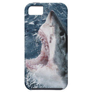 Head of Great White Shark Tough iPhone 5 Case