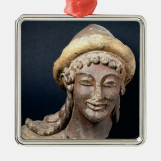 Head of Hermes wearing a pilos Christmas Ornament