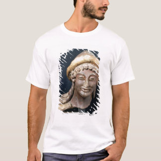 Head of Hermes wearing a pilos T-Shirt