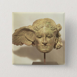 Head of Hypnos, or Sleep 15 Cm Square Badge
