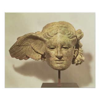 Head of Hypnos, or Sleep Poster