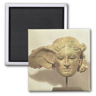 Head of Hypnos, or Sleep Square Magnet