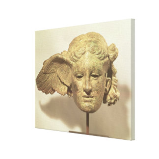 Head of Hypnos, or Sleep Stretched Canvas Print